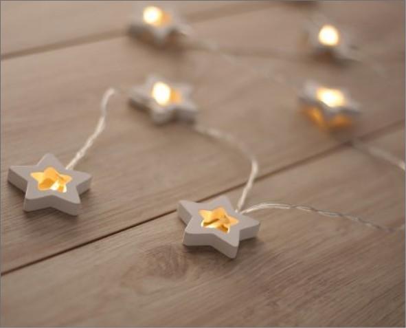 Lampki LED w kształcie gwiazdki