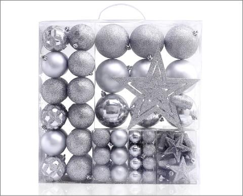 srebrne bombki