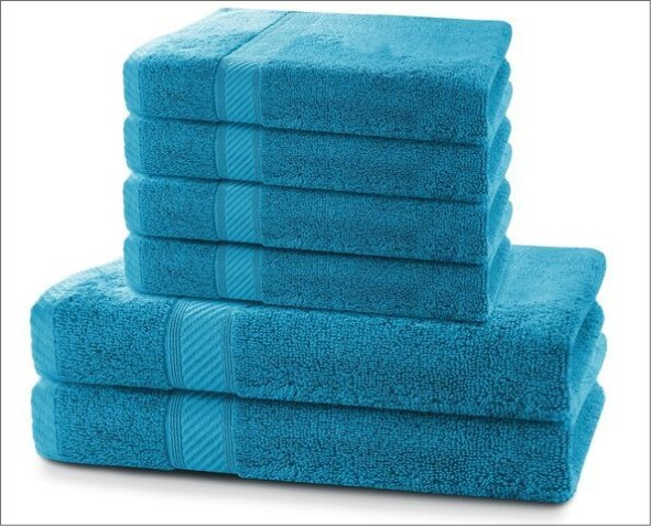 Niebieski Ręcznik Bambi