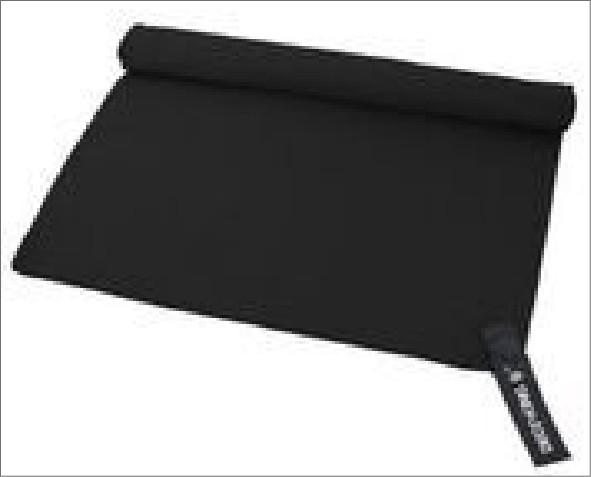 Czarny Ręcznik ekea