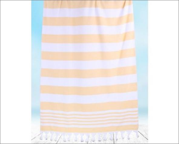 Pomarańczowy Ręcznik Santorini